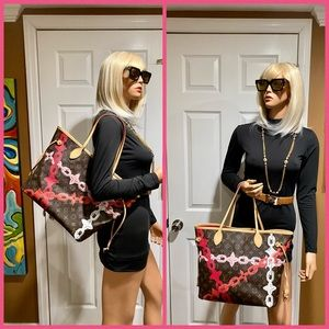 🦄😍Louis Vuitton Limited Edition Bay Neverfull MM